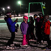 KRISTOPHER RADDER - BRATTLEBORO REFORMER<br /> Instructors from Mount Snow give free lessons to children at Living Memorial Park on Thursday, Jan. 11, 2018.