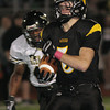 Archbishop Wood's Ryan McMullin returns a Glen Mills kickoff for a touchdown.<br /> Montgomery Media photo by Bob Raines _ 10/1/11