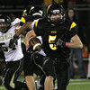 Wood's Ryan McMullin finds room to run against Glen Mills.<br /> Bob Raines 10/1/11
