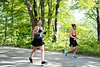 Runners in the Green River Marathon jog down Green River Road towards the VT/MA border on Sunday; KELLY FLETCHER, REFORMER CORRESPONDENT