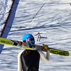 KRISTOPHER RADDER - BRATTLEBORO REFORMER<br /> Jumpers watch as Nick Mattoon lands at the base of the hill during practice on Friday, Feb. 17, 2017 for this weekend's ski competition at the Harris Hill Ski Jump in Brattleboro, Vt.
