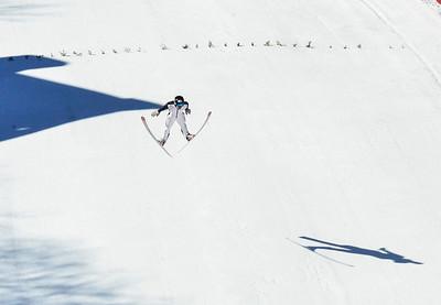 Harris Hill Ski Jump practice - 021717