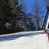KRISTOPHER RADDER - BRATTLEBORO REFORMER<br /> Ski jumpers competitors from around the world practice Friday, Feb. 17, 2017 at the Harris Hill Ski Jump in Brattleboro, Vt., before this weekend's competition.