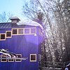 KRISTOPHER RADDER - BRATTLEBORO REFORMER<br /> Nick Mattoon flies down the hill during practice on Friday, Feb. 17, 2017 for this weekend's ski competition at the Harris Hill Ski Jump in Brattleboro, Vt.
