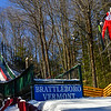 KRISTOPHER RADDER - BRATTLEBORO REFORMER<br /> Patrick Gasienica takes off from the jump during practice on Friday, Feb. 17, 2017 for this weekend's ski competition at the Harris Hill Ski Jump in Brattleboro, Vt.