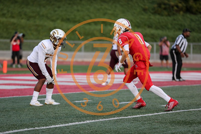 Simi Valley vs Redondo Union High School Football on Friday August 30, 2019. (Photo by Jevone Moore / fi360 News)