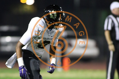 Nov 20 : Calabasas Coyotes wide receiver Keyshawn Johnson jr. (3) Game action in quarterfinals of CIFSS Playoffs with Calabasas vs. Lawndale at Lawndale High School in Lawndale, Ca (Photo by Jevone Moore/Full Image 360)