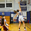 KRISTOPHER RADDER - BRATTLEBORO REFORMER <br /> Hinsdale took on Wilton during a girls' varsity game at Hinsdale High School on Tuesday, Jan. 30, 2018.