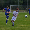 KRISTOPHER RADDER — BRATTLEBORO REFORMER<br /> Hinsdale host Mount Royal Academy during a boys' soccer match on Thursday, Sept. 12, 2019.
