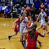 KRISTOPHER RADDER - BRATTLEBORO REFORMER<br /> Hinsdale girls' host Mascenic during a girls' varsity basketball game at Hinsdale High School on Tuesday, Jan. 10, 2017.