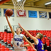 KRISTOPHER RADDER - BRATTLEBORO REFORMER<br /> Hinsdale boys faced off against Nute during the fifth place game of the 2016 Zero Gravity Holiday Basketball Tournament hosted by Keene State College on Wednesday, Dec. 28, 2016.