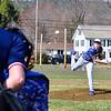 KRISTOPHER RADDER - BRATTLEBORO REFORMER<br /> Hinsdale hosted Wilton during a baseball game on Wednesday April 12, 2017.