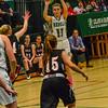KRISTOPHER RADDER - BRATTLEBORO REFORMER<br /> Leland & Gray's Emma Densmore takes a jump shot during the Hoops for Hope basketball game at Leland & Gray Union Middle High School on Thursday, Jan. 26, 2017.
