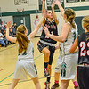 KRISTOPHER RADDER - BRATTLEBORO REFORMER<br /> Leland & Gray would beat Twin Valley 56-23 during the Hoops for Hope basketball game at Leland & Gray Union Middle High School on Thursday, Jan. 26, 2017.