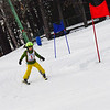 KRISTOPHER RADDER - BRATTLEBORO REFORMER<br /> Pasture Leavy competes with nearly 40 others during the Junior Olympics Downhill Ski Races at Living Memorial Park on Monday, Feb. 19, 2018.