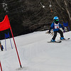 KRISTOPHER RADDER - BRATTLEBORO REFORMER<br /> Nearly 40 children competed in the Junior Olympics Downhill Ski Races at Living Memorial Park on Monday, Feb. 19, 2018.