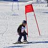 KRISTOPHER RADDER - BRATTLEBORO REFORMER<br /> Children ski down hill at Living Memorial Park during that Junior Olympics Downhill Ski Races on Monday, Feb. 20, 2017 as part of the 61st Annual Brattleboro Winter Carnival.