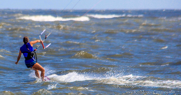 KITEBOARDING ROUGH SEAS | 8-28-16