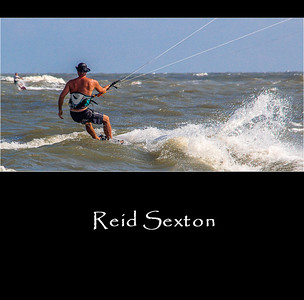 KITEBOARDER | REID SEXTON