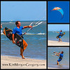 KITEBOADERS ON SULLIVAN'S ISLAND