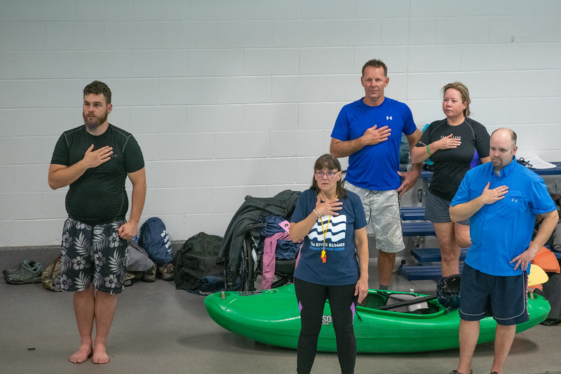 Team River Runner Regional Kayak Football Tournament