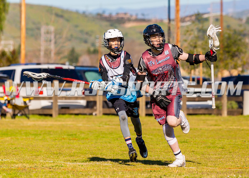 San Fernando Valley vs Calabasas, U13, 02/23/2019