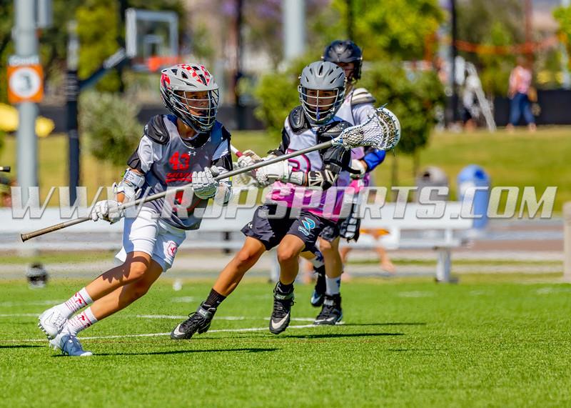 Ronin Lacrosse vs Silverfin