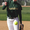 SB_LC HH_1128<br /> Lansdale Catholic's Mary Cate Scott pitches against Hatboro Horsham.<br /> Bob Raines 3.26.12