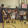 PHOTOS BY LINDA SPERRY <br /> Leland & Grayboys' varsity lost to Green Mountain Union High School 26 to 48 during the Hoops for Hope game at Leland & Gray Union Middle and High School on Friday, Jan. 19, 2018.