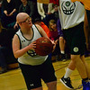 KRISTOPHER RADDER — BRATTLEBORO REFORMER<br /> Leland & Gray takes on Burr and Burton during a unified basketball game at Leland & Gray Union High School on Thursday, April 11, 2019.