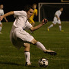 Upper Moreland's Matt Foley takes the ball up field.