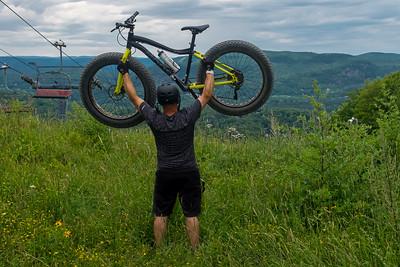 Jason Galipeau at Mont Avila, Piedmont, Qc