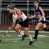 FH_MSJ AC 7364_Archbishop Carroll's Maddie Lesher drives toward the crease.    Photo by Bob Raines