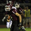 Abington's Ray Schreiner runs for major yardage against Neshaminy.<br /> Bob Raines 9/26/11