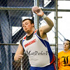 Winnacunnet's Christian Dyer in the Boys Shot Put @ the NHIAA Division I Indoor Track & Field Championships @ Dartmouth College Hanover, NH on Sunday 2-3-2013.  Photo by Matt Parker.