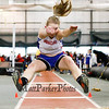 Winnacunnet's Emma Checovich in the Girls Long Jump @ the NHIAA Division I Indoor Track & Field Championships @ Dartmouth College Hanover, NH on Sunday 2-3-2013.  Photo by Matt Parker.