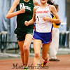 Winnacunnet's Alexa Pelletier and Central's Laurel Gagnon during the Girls 3000m run @ the NHIAA Division I Indoor Track & Field Championships @ Dartmouth College Hanover, NH on Sunday 2-3-2013.  Photo by Matt Parker.