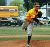 Fort Washington Generals Dan Jacobson, pitcher. Photo by Debby High