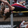 McCloskey GA_5043<br /> High School Girls' High Jump<br /> Megan McCloskey, Germantown Academy<br /> Bob Raines 04.26.12