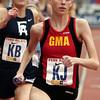 Relays_5089<br /> High School Girls' 4x400 Philadelphia Academic<br /> Gwynedd Mercy Academy<br /> Start of the third leg.<br /> Bob Raines 04.26.12