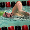SW_PR HH_4311       Pennridge's Julia Nadovich swims against Hatboro Horsham in the 200m. freestyle.