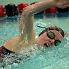 SW_PR HH_4372   Hatboro Horsham's Megan Pellechia swims the freestyle leg of her 200 m. individual medley.
