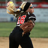 Hatboro Horsham's Nicole Casagrand pitches to Pennridge.