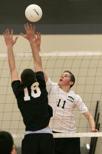 Pennridge's Devon Rice eases the ball over to Upper Dublin.