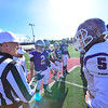 KRISTOPHER RADDER — BRATTLEBORO REFORMER<br /> Brattleboro Union High School's football team defeats Bellows Falls 46-7 in the Vermont Division II football championship in Rutland, Vt., on Saturday, Nov. 9, 2019, to bring home the title for the first time since 1973.