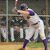 Upper Moreland's Pat McKay pulls back from an inside pitch.<br /> Bob Raines 5/24/10