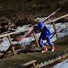 KRISTOPHER RADDER - BRATTLEBORO REFORMER<br /> Jumpers take to the hill for the first time before the start of competition of the United States Cup / Pepsi Challenge at the Harris Hill Ski Jump in Brattleboro, Vt., on Saturday, Feb. 17, 2018.