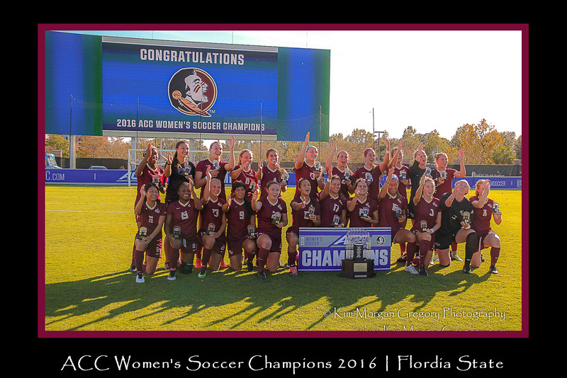 ACC Soccer CHAMPIONS   FLORIDA STATE