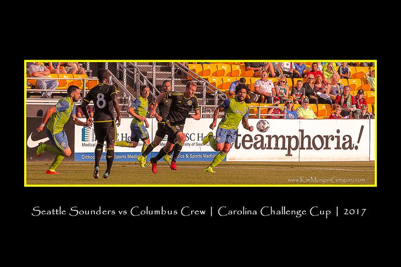 SEATTLE SOUNDERS vs COLUMBUS CREW 2017