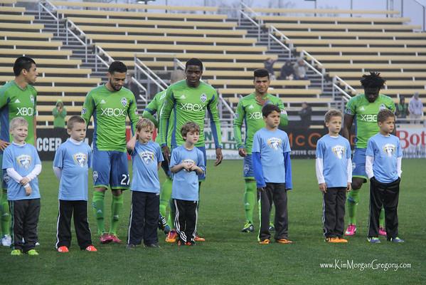 Carolina Challenge Cup Houston vs Seattle; Blackbaud Stadium, Danile Island, SC